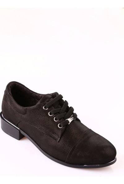 Mammamia D18Ka-615 Kadın Ayakkabı Günlük Siyah Ays