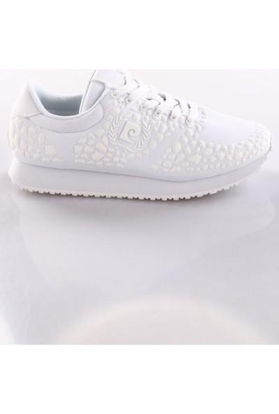 Pierre Cardin Pcs-81810 Kadın Spor Ayakkabı Beyaz