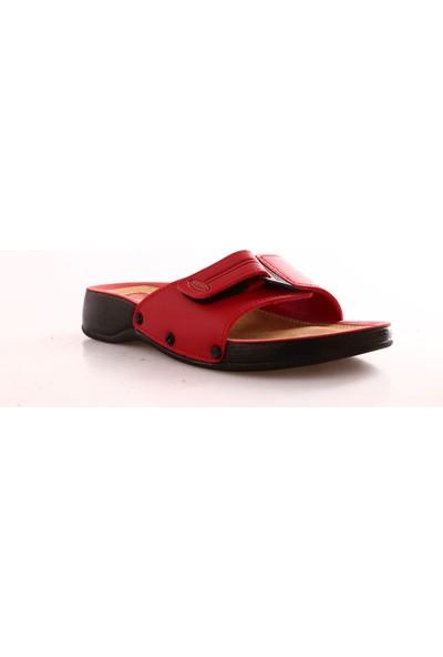 Ceyo 3000-2-Z Kadın Terlik Kırmızı