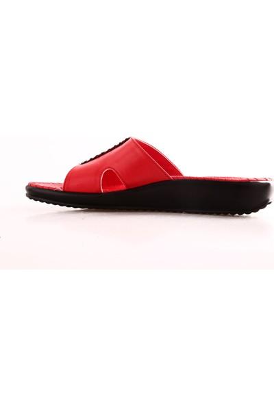Ceyo 9200-3 Kadın Terlik Kırmızı
