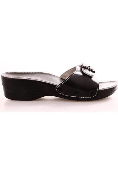 Ceyo Minelli Topuklu Kadın Terlik Siyah