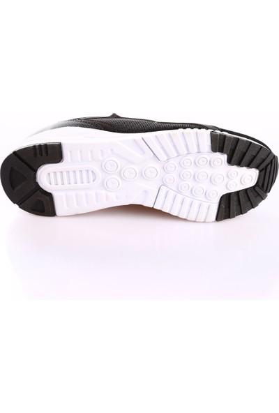 Hammer Jack Hj-3450-M Erkek Spor Ayakkabı Siyah Beyaz