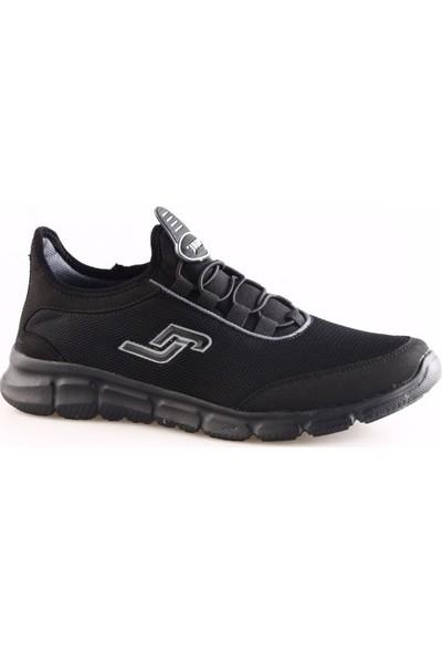 Jump 15529 Erkek Fashıon Athletıc Büyük Numara Spor Ayakkabı Siyah