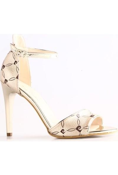 Pierre Cardin 91054 Kadın Ayakkabı Altın