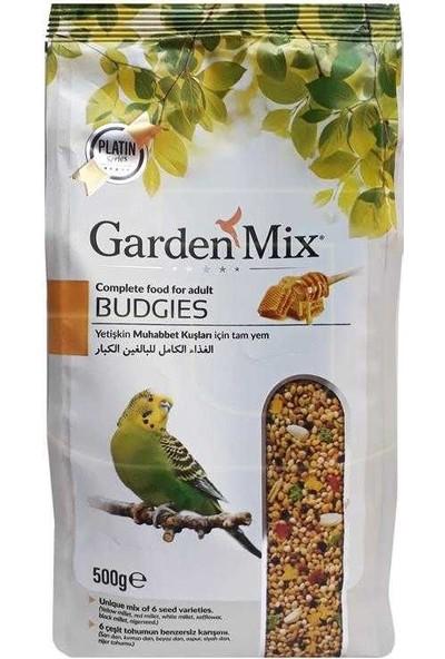 Gardenmix Super Premium Meyveli Vitaminli Muhabbet Kuşu Yemi 500Gr