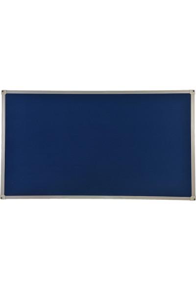 Aymi Alüminyum Çerçeve Kumaş Kaplı Pano + 10 Adet Pano İğnesi 90 x 150 cm