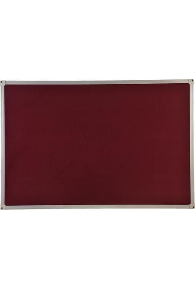 Aymi Alüminyum Çerçeve Kumaş Kaplı Pano + 10 Adet Pano İğnesi 60 x 90 cm