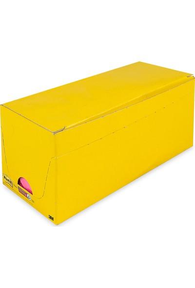 Post-it® Super Sticky Notluk Renkli. 18 adet. 76x76mm. 90 yaprak