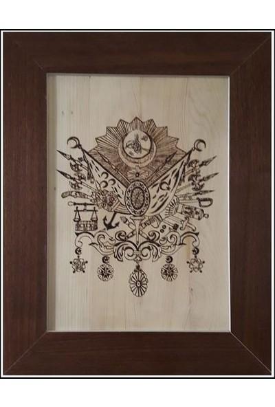 Osmanlı Arması Özel El Yakması