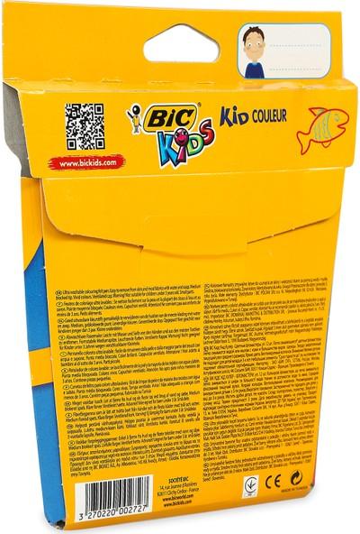 Bic Kids Couleur (Ultra Yıkanabilir) Keçeli Boya Kalemi 12 Renk