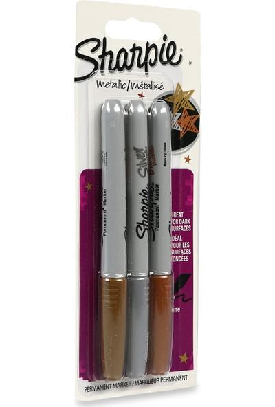 Sharpie Fine Marker Metalik Kalem Seti 3 Renk