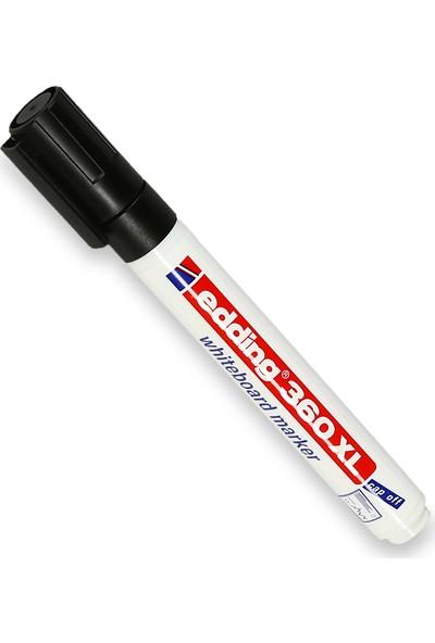 Edding Beyaz Tahta Kalemi Cap Off E-360Xl Siyah 10 Lu