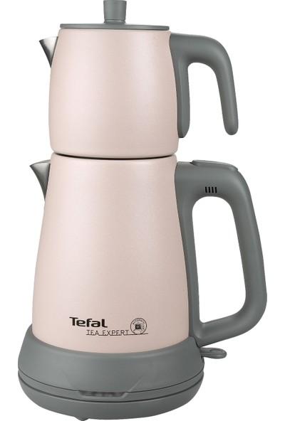 Tefal Tea Expert Işıltılı Pudra Çelik Demlik Çay Makinesi