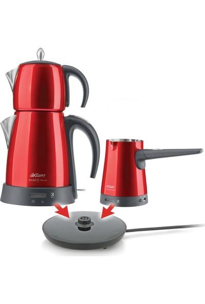 Arzum AR3008 Ehlikeyf Delux Çay ve Kahve Makinesi