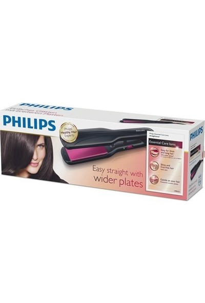 Philips Essential Care HP8325/00 İyonik Geniş Seramik Plakalı Saç Düzleştirici