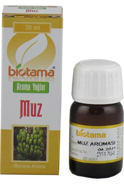 Biotama Muz Aroması Yağı 20 ml