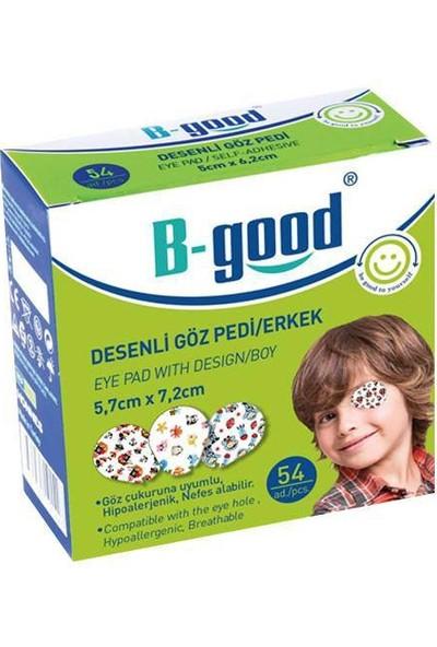 B-Good Desenli Göz Pedi 5,7cm x 7,2cm / Erkek