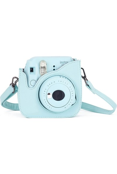 Fujifilm Instax Mini 9 Açık Mavi Deri Çanta
