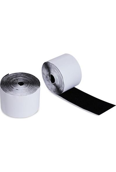 Hdg Cırt Bant Seti Siyah Arkası Yapışkanlı 5 Cm En - 5 Metre