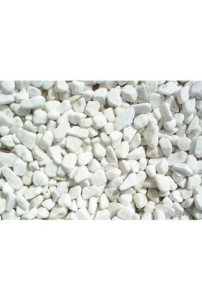 Yalova Fidan Market Doğal Dekoratif Dolomite Beyaz Taş 25 Kilo 2-4 Cm