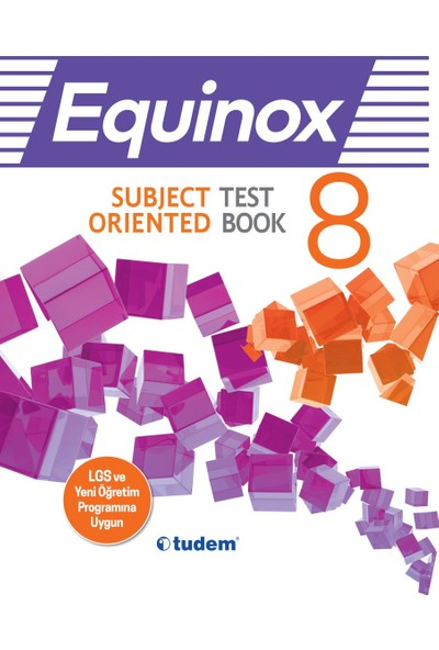 Tudem 8.Sınıf Equinox İngilizce Kazanım Odaklı Soru Bankası