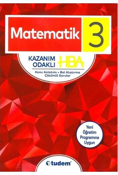 Tudem 3. Sınıf Matematik Kazanım Odaklı Hba 2019