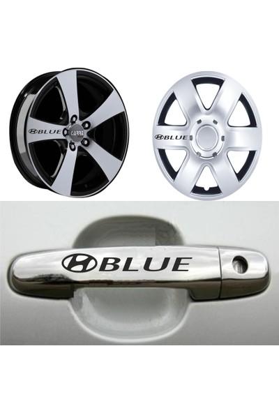 Mtm Hyundai Accent Blue Kapı Kolu Jant Sticker