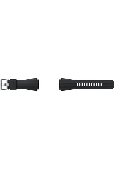 Samsung Galaxy Watch Silikon Kayış (46 mm) - Siyah ET-YSU80MBEGWW