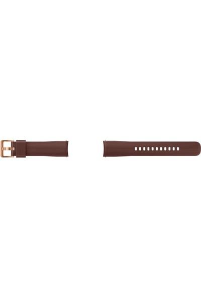 Samsung Galaxy Watch Silikon Kayış (42 mm) - Sepya ET-YSU81MAEGWW