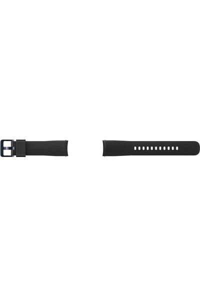 Samsung Galaxy Watch Silikon Kayış (42 mm) - Siyah ET-YSU81MBEGWW