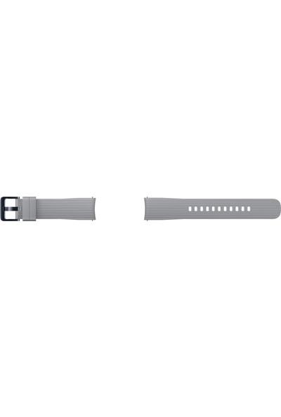 Samsung Galaxy Watch Silikon Kayış (42 mm) - Titanyum Gri ET-YSU81MJEGWW