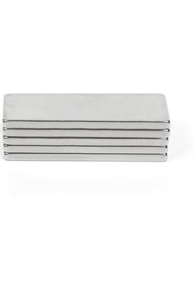 U-Jovan Çok Güçlü Neodymium Mıknatıs Ferrit Magnet Blok 30X10X2Mm