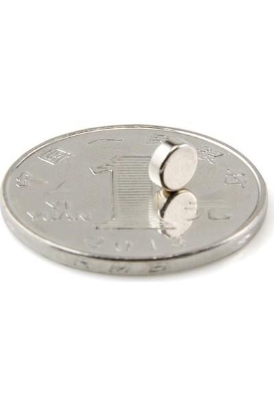 U-Jovan Çok Güçlü Neodymium Mıknatıs Ferrit Magnet Daire 5X2Mm