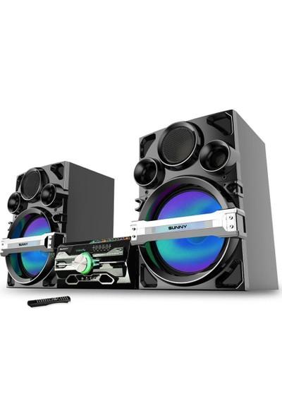 Sunny Dvd Player Bluetoothlu 3 Parça Ev Sinema Sistemi (R/L/ANFI)