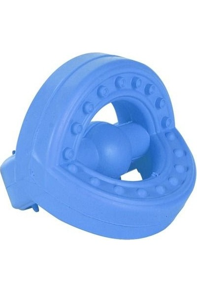 Bmpet Köpek İçin Kauçuk Diş Bakım Oyuncağı 8.5 Cm- 8 Cm Mavi