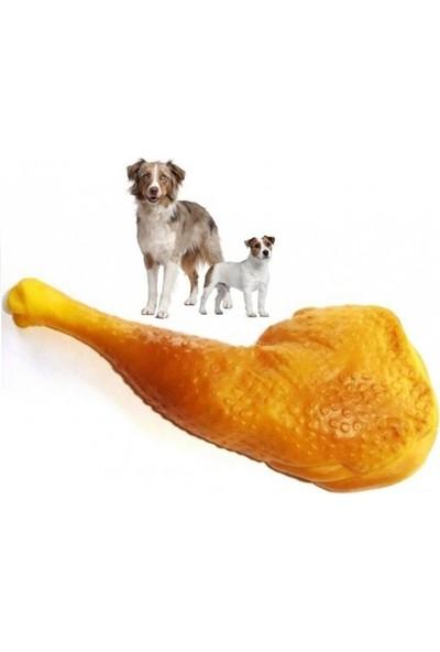 Bmpet Sesli Tavuk But Köpek Oyuncağı 16 Cm- 7 Cm