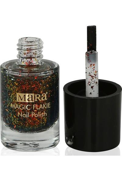 Mara Magic Flakies Oje Red Gold Green
