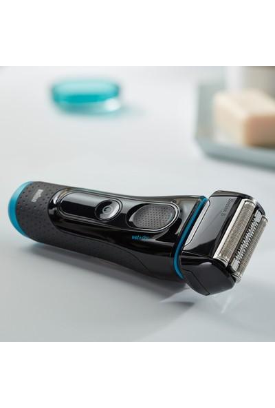 Braun Series 5 5140s Erkek Elektrikli Folyo Tıraş Makinesi, Islak ve Kuru, Şarj Edilebilir ve Kablosuz Tıraş Makinesi