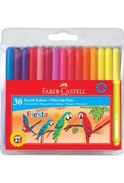 Faber-Castell Fiesta Keçeli Kalem 30 Renk