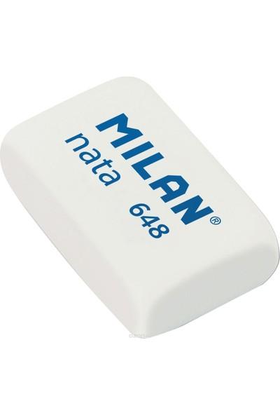 Milan Milan Nata Küçük Boy Beyaz Silgi