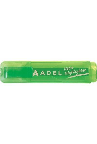 Adel Şeffaf Neon Fosforlu Yeşil