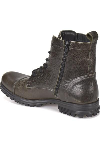 Dockers By Gerli 211352H Haki Erkek Deri Modern Ayakkabı