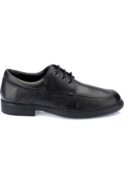 Polaris 5 Nokta 82.100410.M Siyah Erkek Deri Ayakkabı