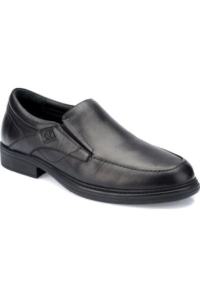Polaris 5 Nokta 82.100411.M Siyah Erkek Deri Ayakkabı