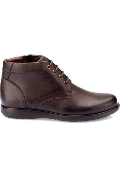 Polaris 82.109429.M Kahverengi Erkek Klasik Ayakkabı