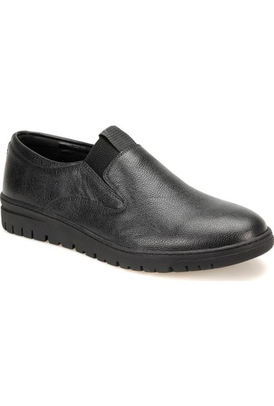 Flogart Zb-1 Siyah Erkek Deri Modern Ayakkabı