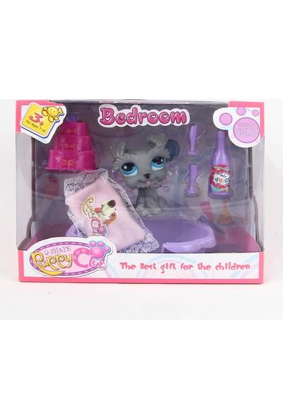 Can Ali Toys Puppy Club Bedroom Oyuncak Miniş Set Renkli