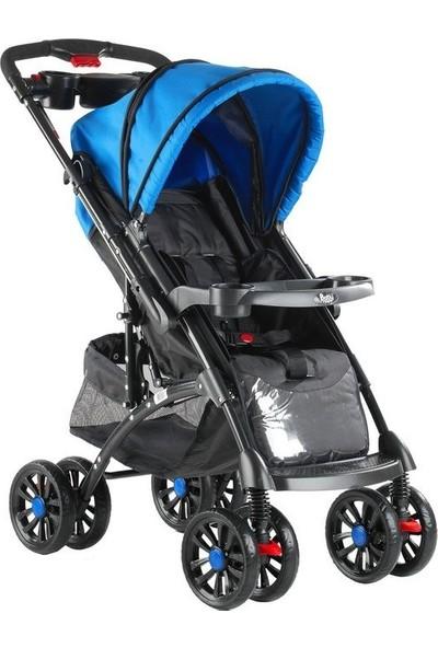 BabyHope Bh-609 Polo Puset Mavi Siyah