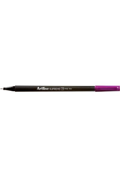 Artline Supreme Finepen Renkli Kalem Pastel Mor