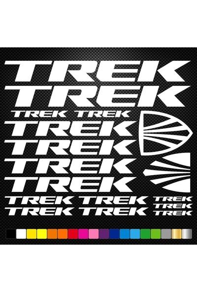 Sticker Masters Trek Bisiklet Sticker Set Etiket